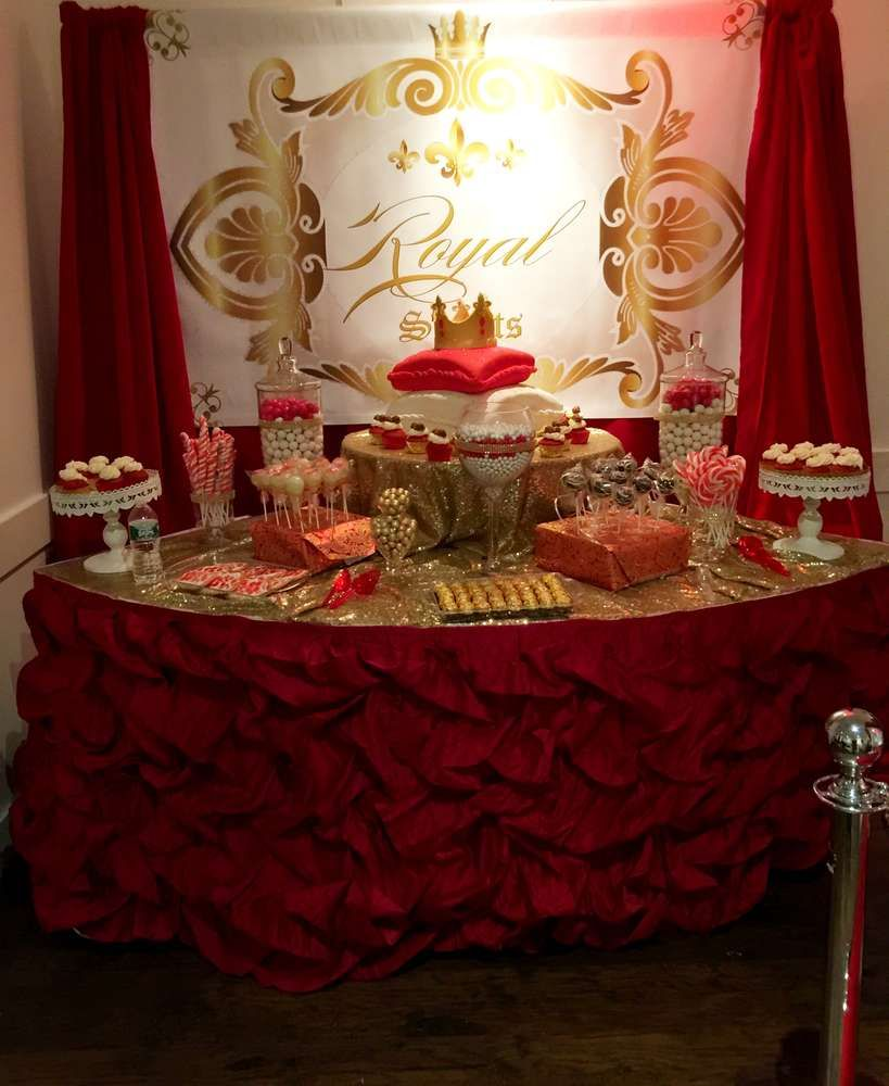 Royal Prince Baby Shower Party See More Party Planning