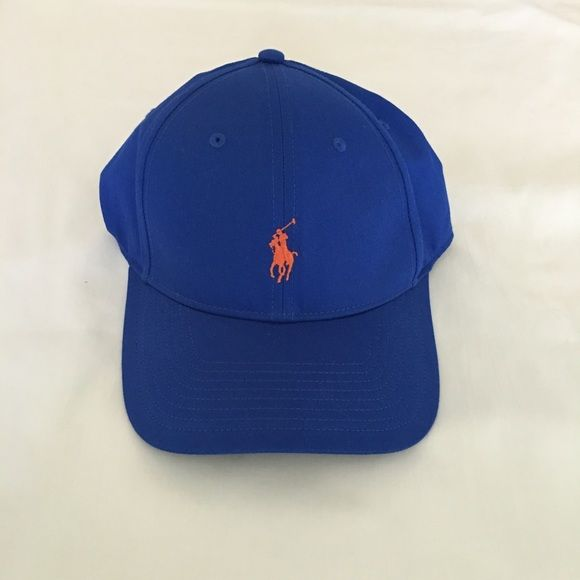 7f47ee706901b NWT Polo Ralph Lauren Performance Baseball Hat Adjustable Velcro strap at  back
