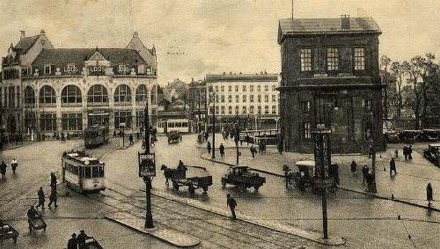 Station Rotterdam Hofplein Stationsgebouw I 1920 Rotterdam