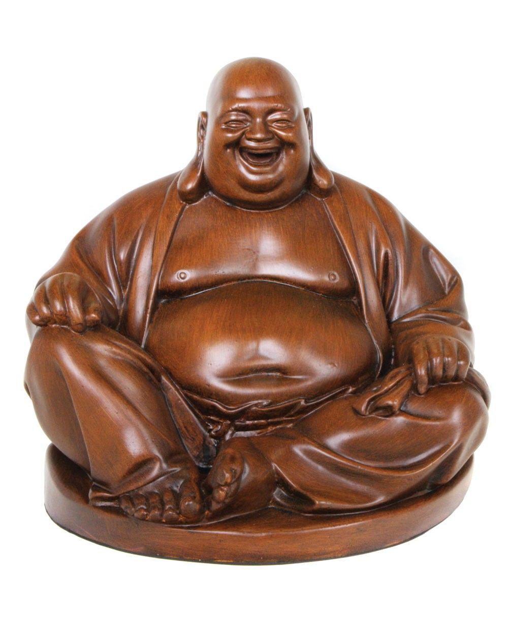 Very Big Lucky Traveling Buddha Hotei Wood Carving Statue Handmade Bali Art Art