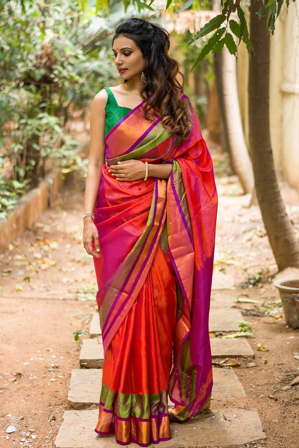 59dd88d99445e Actual Fabric Art Silk Saree Size 5.5 Mtr Blouse Size 0.8 Mtr Actual Color  Multicolour Type Unstitched Pattern Checkered Occasion Casual Wear  Precautions ...