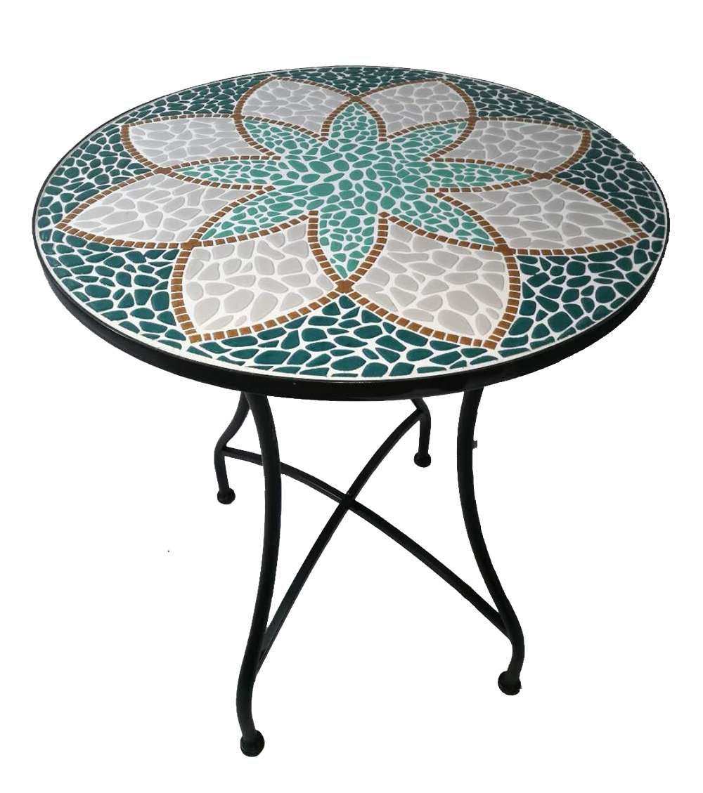 Pin Von Norma Auf Beton Mosaik Tisch Runder Tisch