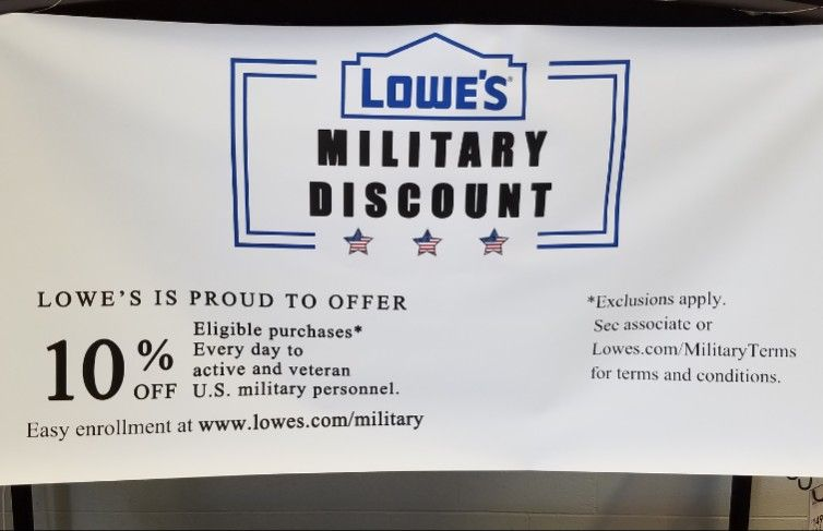 To All Active And Retired Military Sign Up And Take Advantage Of The 10 Military Discount Offered At Lowe Real Estate Investing Military Discounts Investing