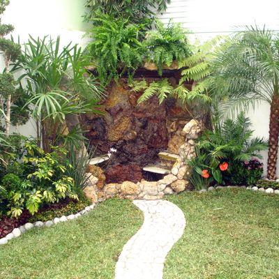 Fuente jardines pinterest imagenes de casas for Fuentes para jardines pequenos