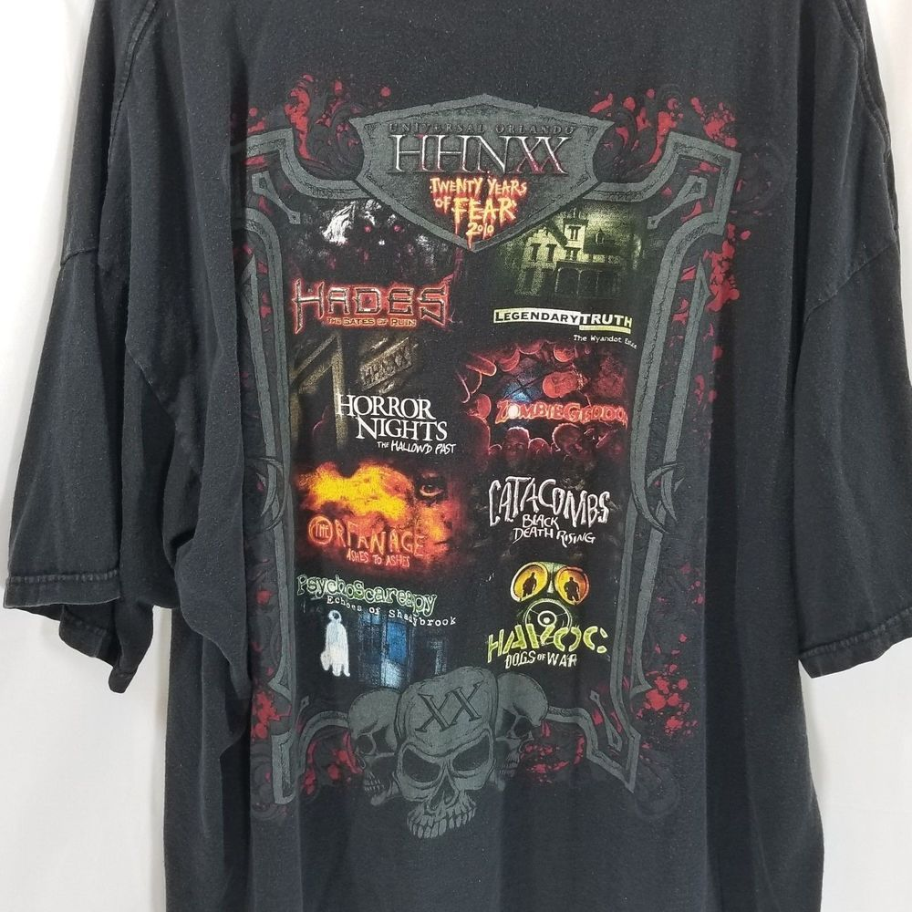 11433493 Halloween Horror Nights Shirt 3XL Men A New Age of Darkness Begins 2010  Orlando #HalloweenHorrorNights #HHN #HHNOrlando #Orlando #florida  #UniversalHHN ...