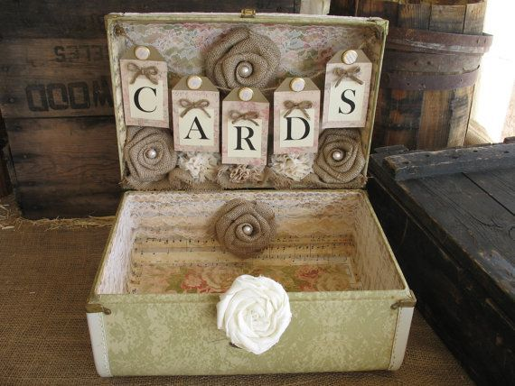 Vintage Suitcase Wedding Card Box Wedding Card Holder Wedding Decoration Blush Wedding #vintagesuitcasewedding Vintage Suitcase Wedding Card Box Wedding Card Holder Wedding Decoration Blush Wedding #vintagesuitcasewedding