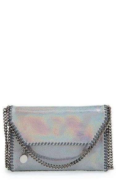 d6c92261a8d8 Stella McCartney  Mini Falabella - Hologram  Crossbody Bag available at   Nordstrom