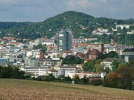 Pforzheim is a town of nearly 120,000 inhabitants in the state of Baden-Württemberg, southwest Germany at the gate to the Black Forest. It is well-known -for its jewelry and watch-making industry.