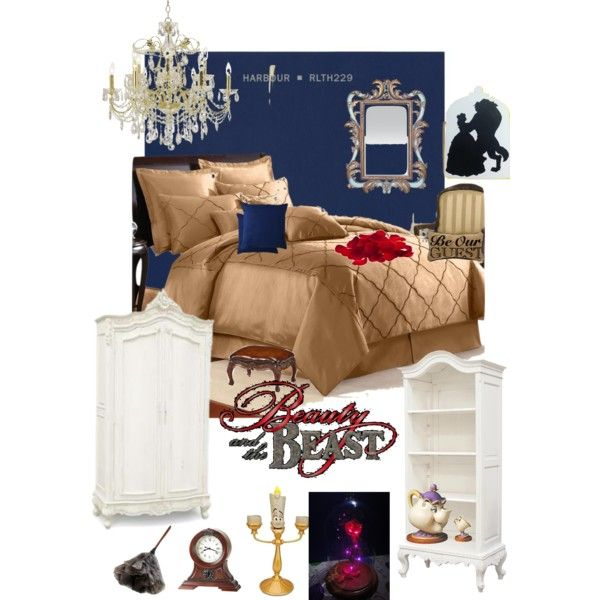 disneyhome- beauty and the beast inspired bedroom | bedroom ideas