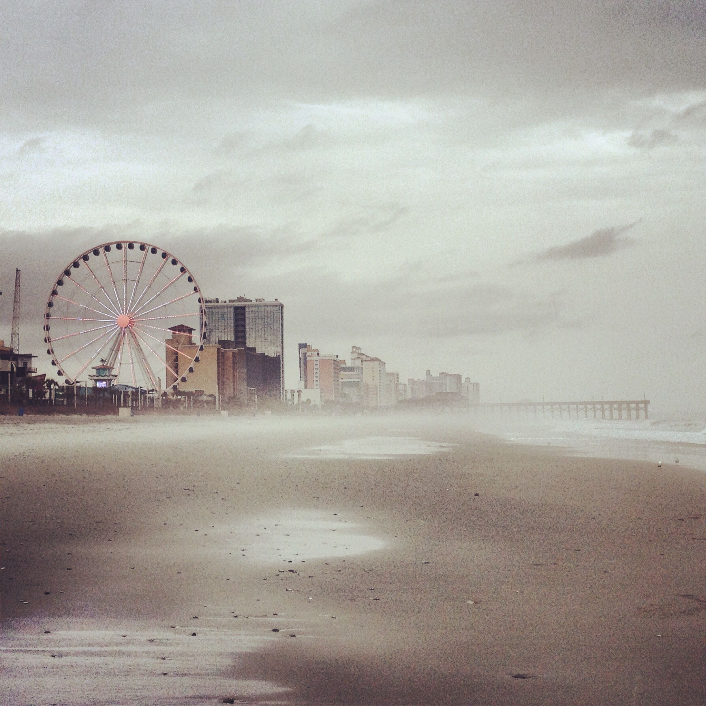 Places To Visit In Month Of December: Myrtle Beach In December In The Rain