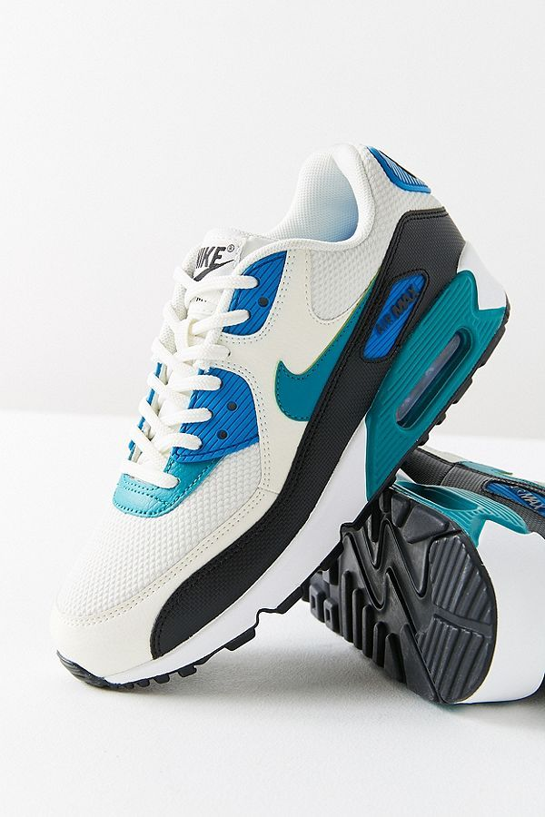 Nike Air Max 90 Colorblock Sneaker | Nike air max, Air max