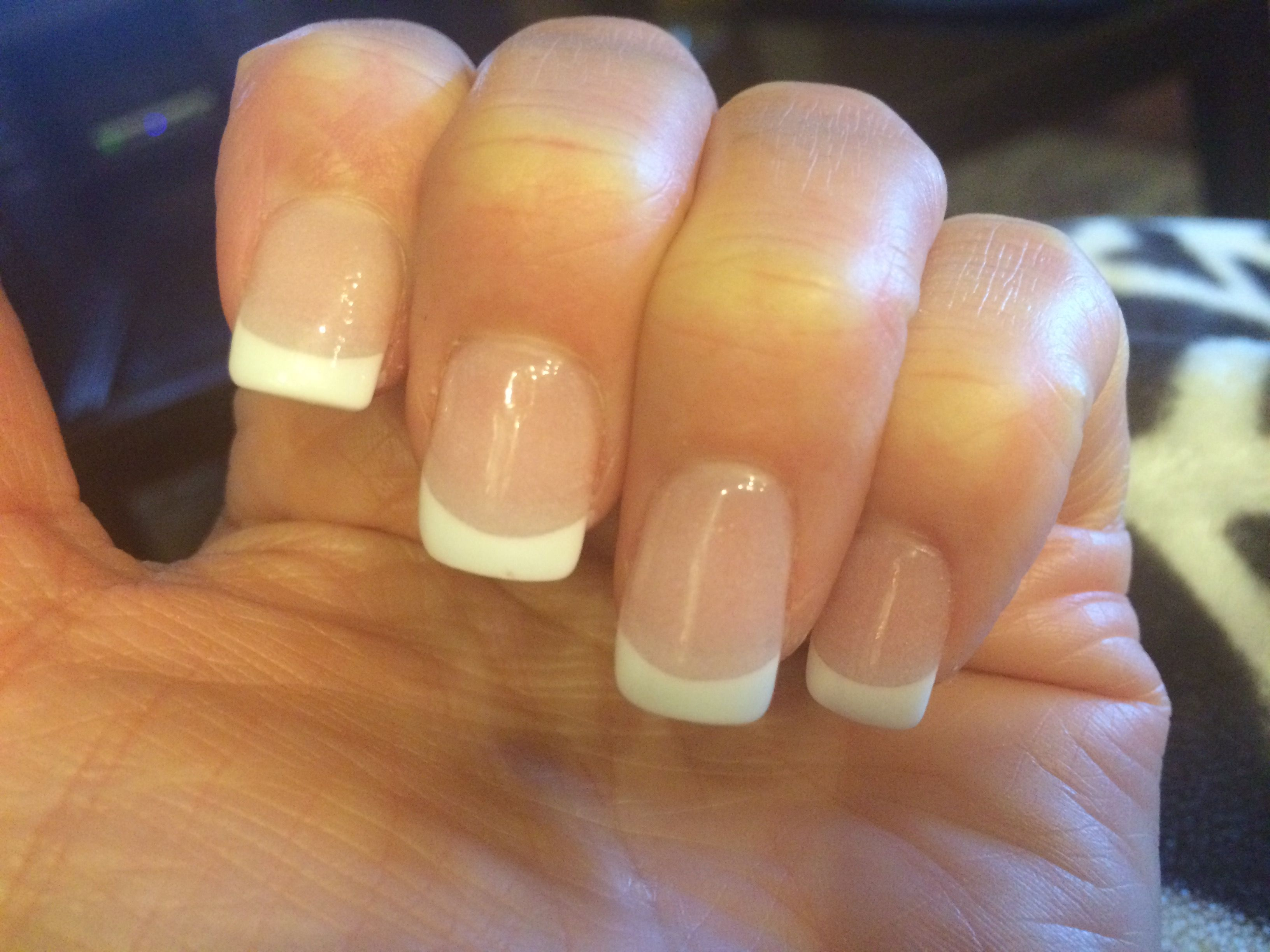 Nexgen French Nails | Mode que j\'♡ | Pinterest | French nails and ...