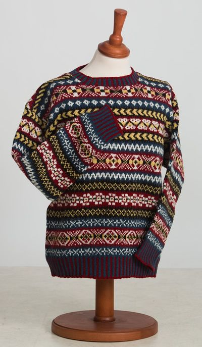 shetland knitwear - Google SearchA very traditional pattern in the ...
