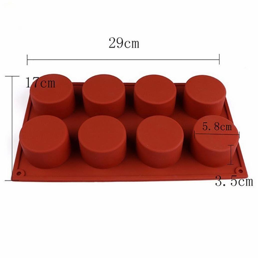 Liping Circular Cake Mold Silicone Bakeware Set Professional