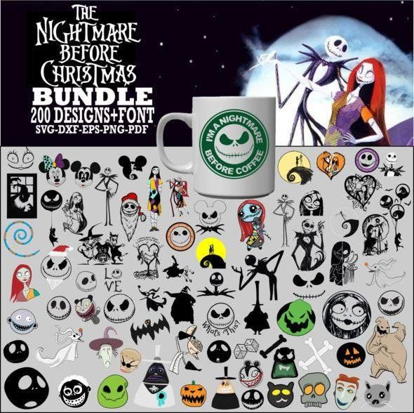 Download Jack Skellington Svg bundle The Nightmare Before Christmas ...