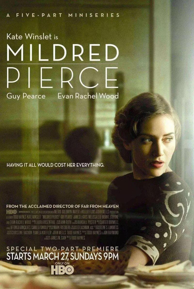 """Mildred Pierce"" (Todd Haynes, 2011) con Kate Winslet, Guy Pearce y Even Rachel Wood"