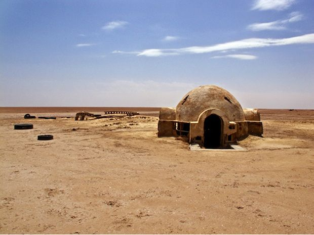 Abandoned Star Wars Film Sets In Tunisia Star Wars Set Ancient Ruins Star Wars
