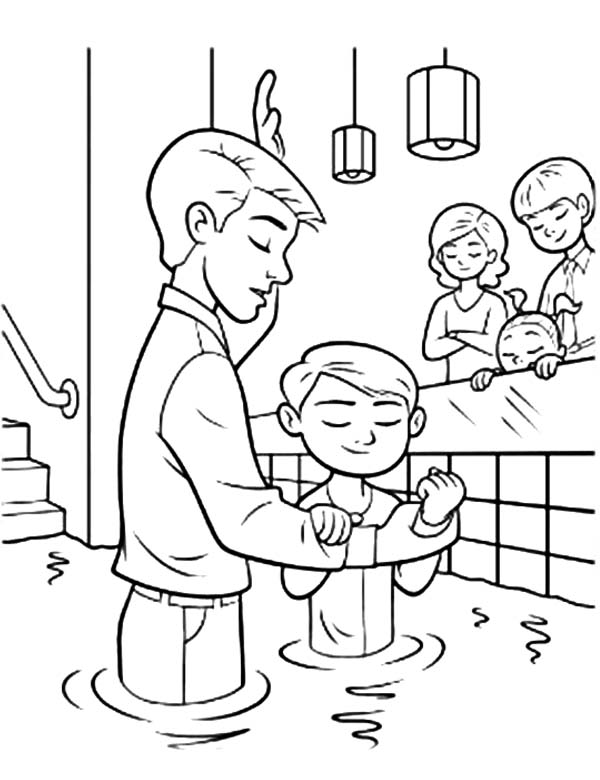 Baptism Ordinances Of Salvation Coloring Pages : Best