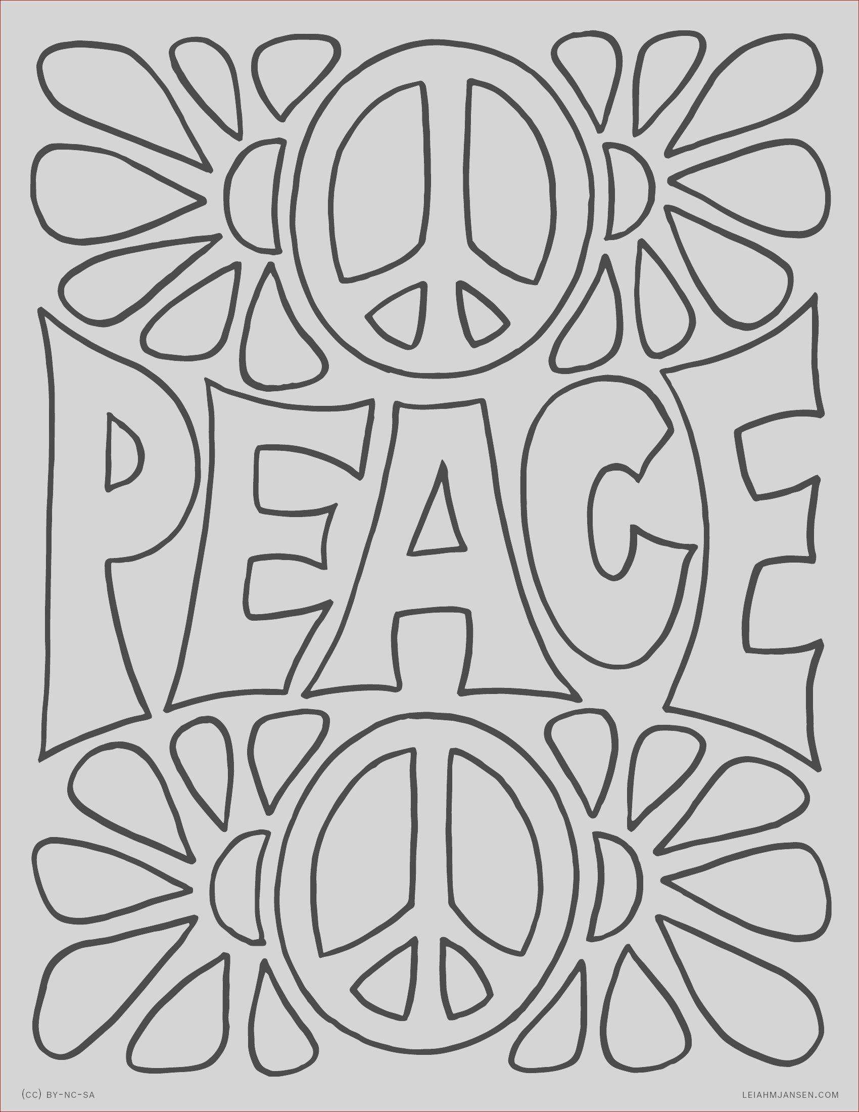 Simbolo Paz Para Colorear Coloring Pages Coloring Pages Inspirational Mandala Coloring Pages