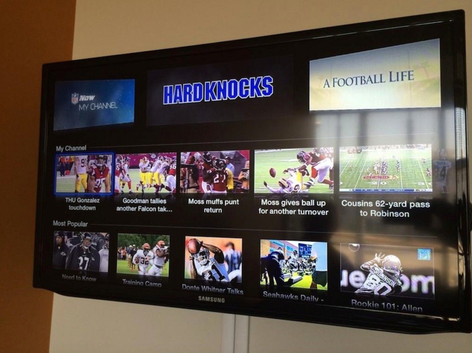 'NFL Now' Channel Coming to Apple TV Later This Week