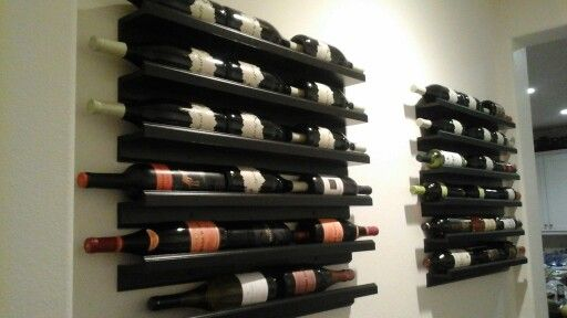Ikea Hack Marietorp Picture Ledge Used As Wine Rack My Wines Are