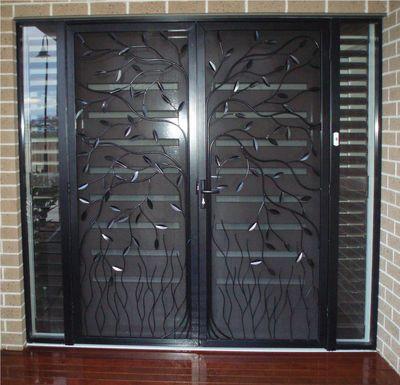 Decorating 187 Screen Door Grill Guard Inspiring Photos