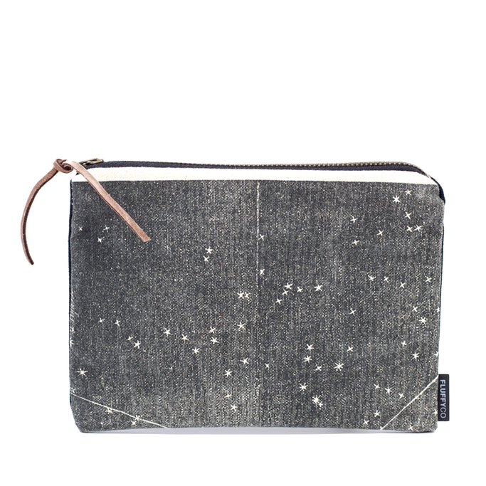 This pretty Starmap Clutch is back in stock!