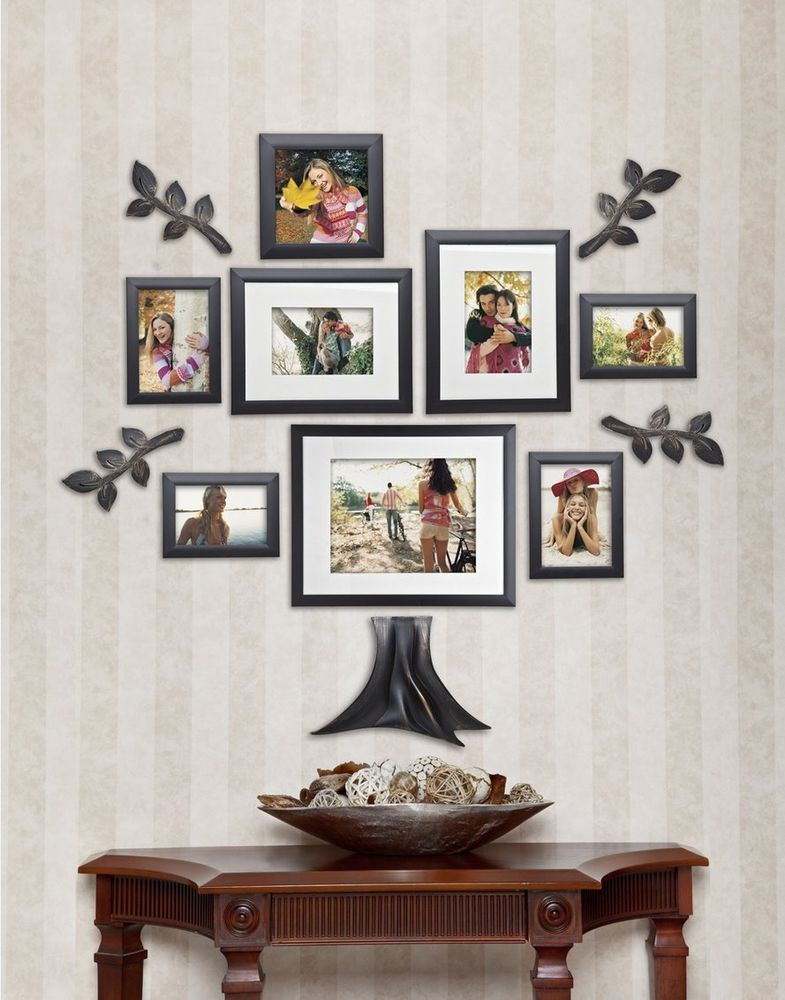 13 Pc Family Tree Wall Photo Frame Set Hanging Frames Picture Home ...