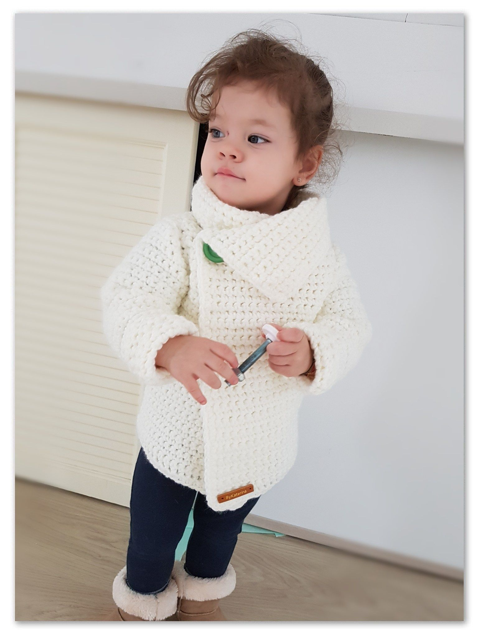 Snowdrop Cardigan. Free Crochet Pattern | CHILD SIZE | Pinterest ...