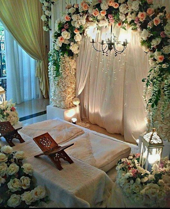 Wedding Nikah Simple Backdrop Decoration Muslim: Best Wedding Theme Colours In 2019