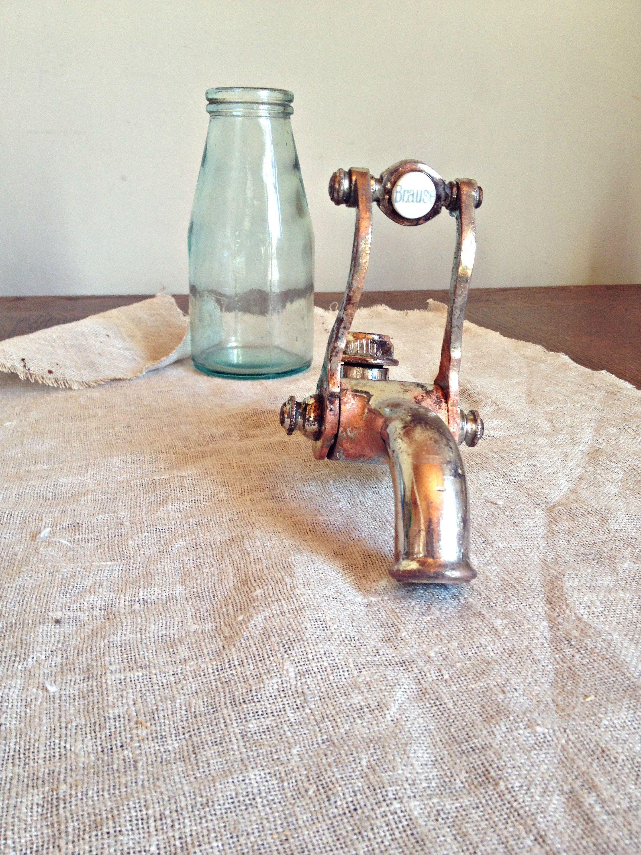 Antique bath tap, french faucet, Vintage shower tap, Water Tap ...