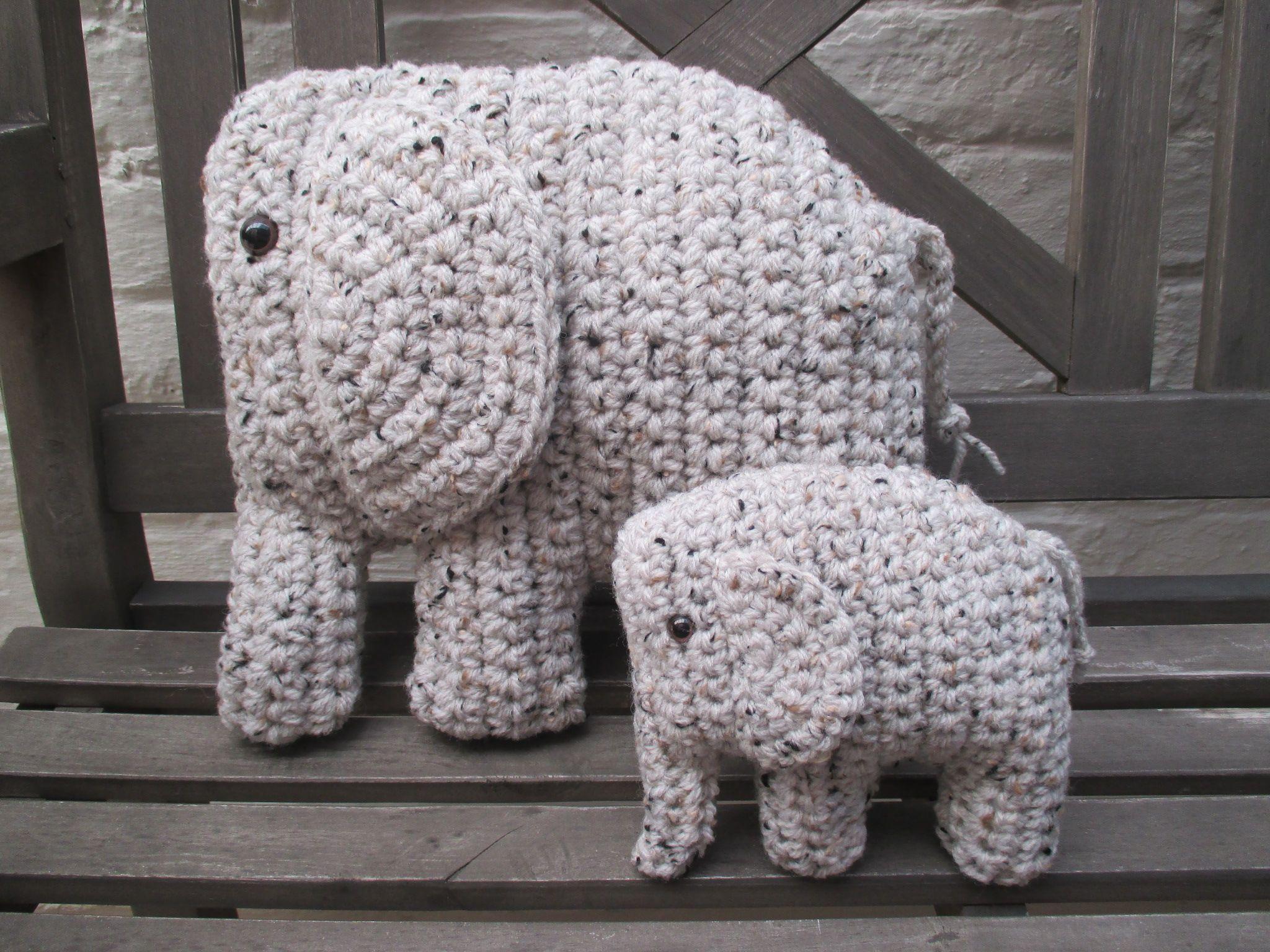 Gehaakte olifant als kinderkamer versiering knuffel crea for Kinderkamer versiering