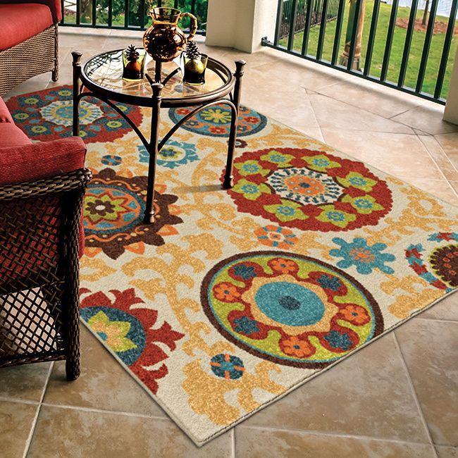 Carolina Weavers Indoor Outdoor Santa Barbara Collection Tyro