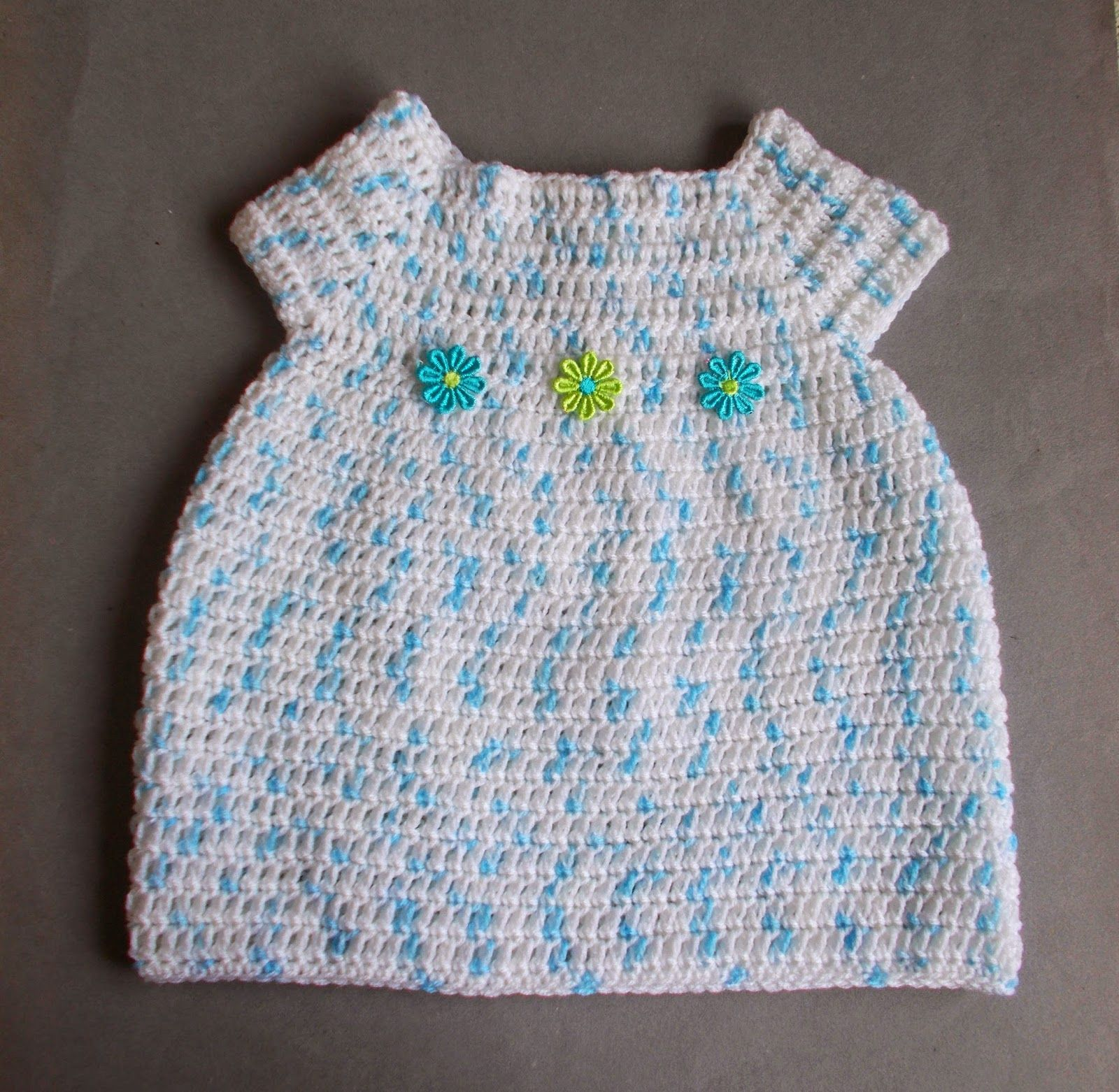 Starting Out Crochet Baby Dress For a 6 months baby Starting Out