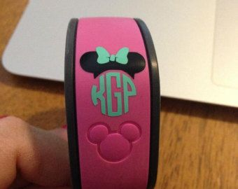 Mickey And Minnie Magic Band Decals Magic Bands And Disney Trips - Magic band vinyl decals