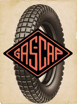 Logo for Gascap Motors  Design: Alex Ramon Mas