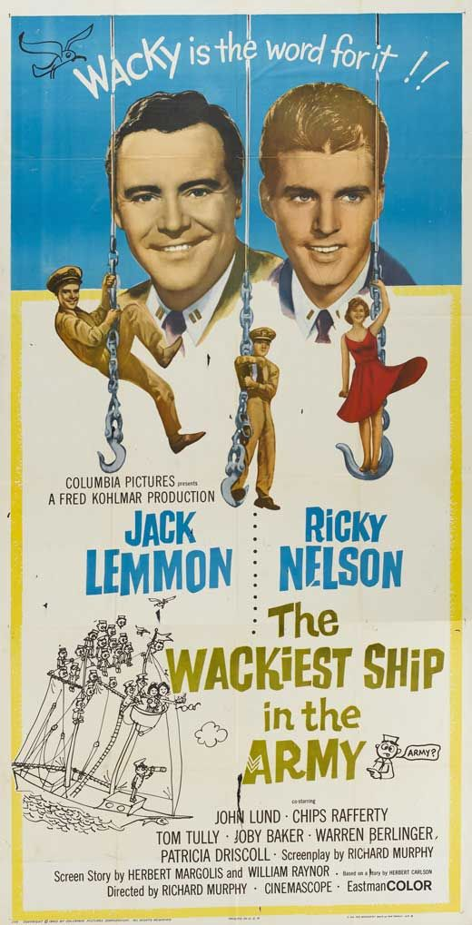 The Wackiest Ship in the Army (1960) Stars: Jack Lemmon, Ricky ...