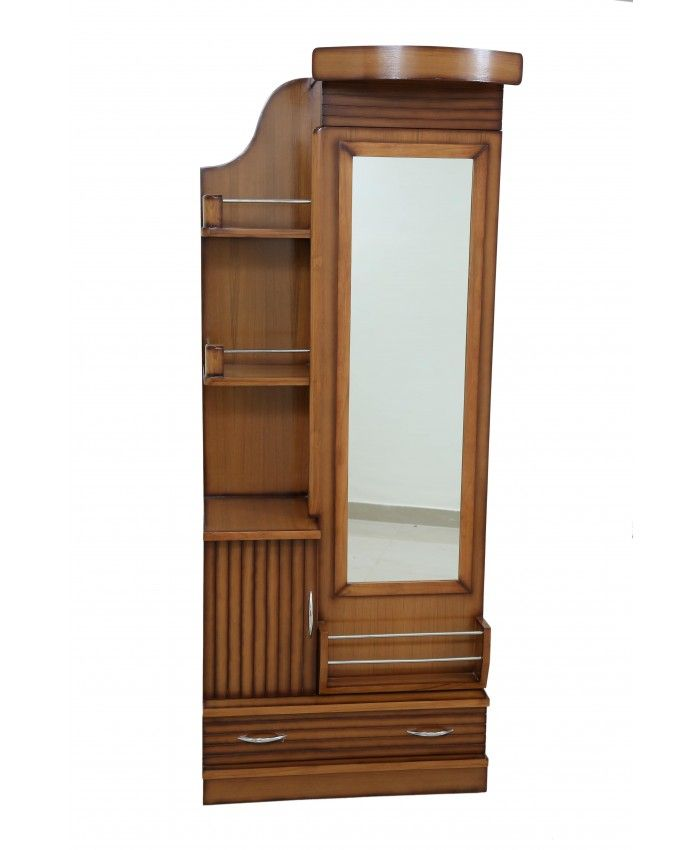 Wooden Teak Dressing Table With Mirror #Wooden