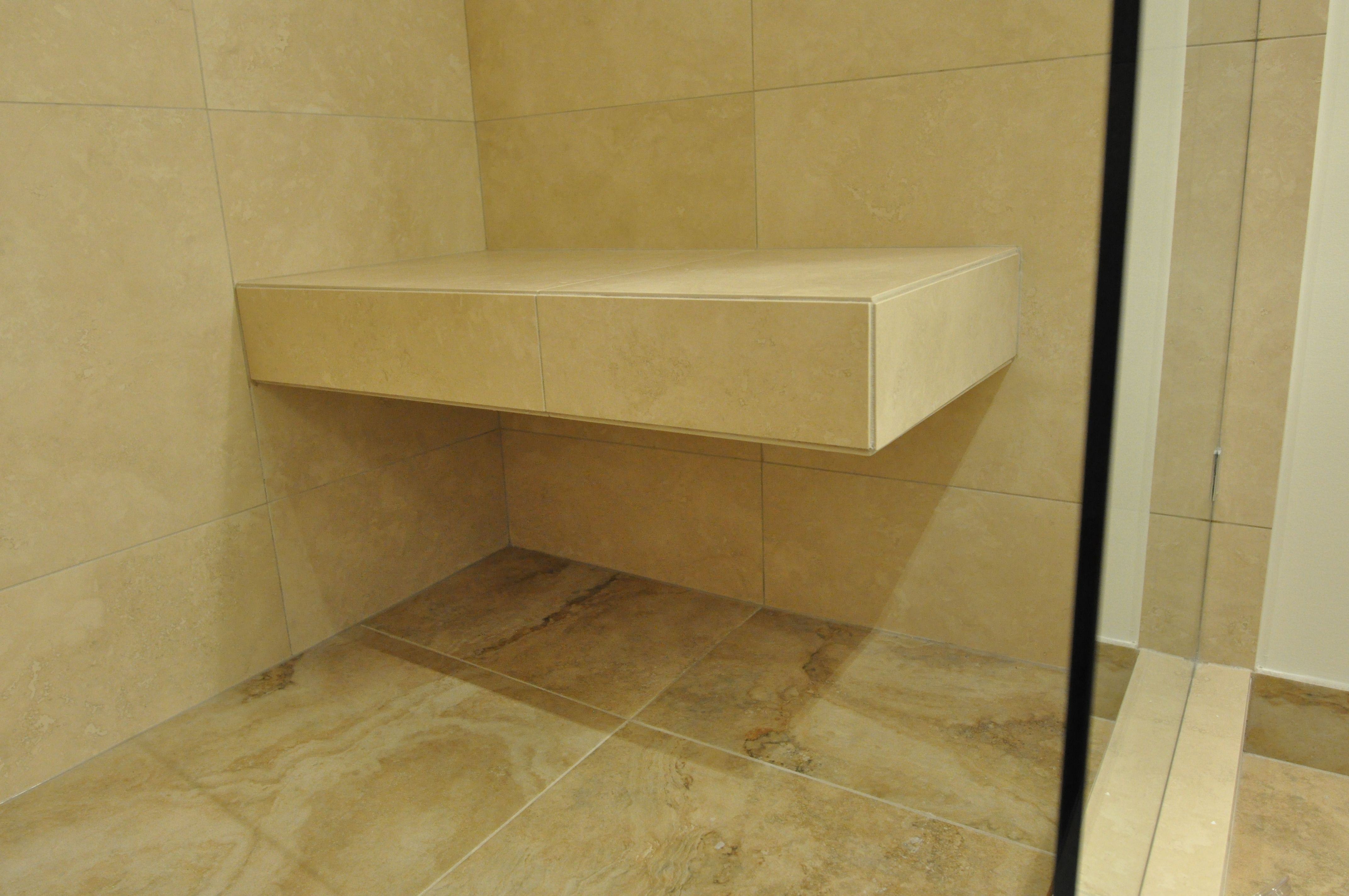 Floating Shower Bench In 2019 Basement Bathroom