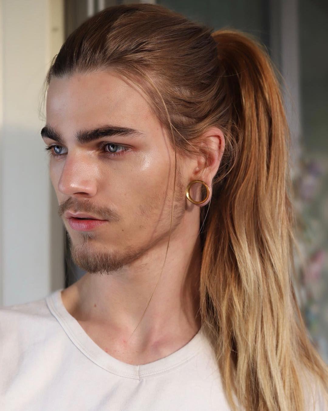 Image May Contain 1 Person Closeup Long Hair Styles Men Long Hair Styles Boys Long Hairstyles