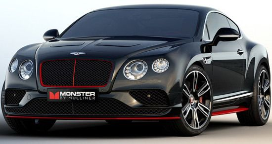 Bentley Continental GT V8 S Monster by Mulliner | Fardus- Autos ...