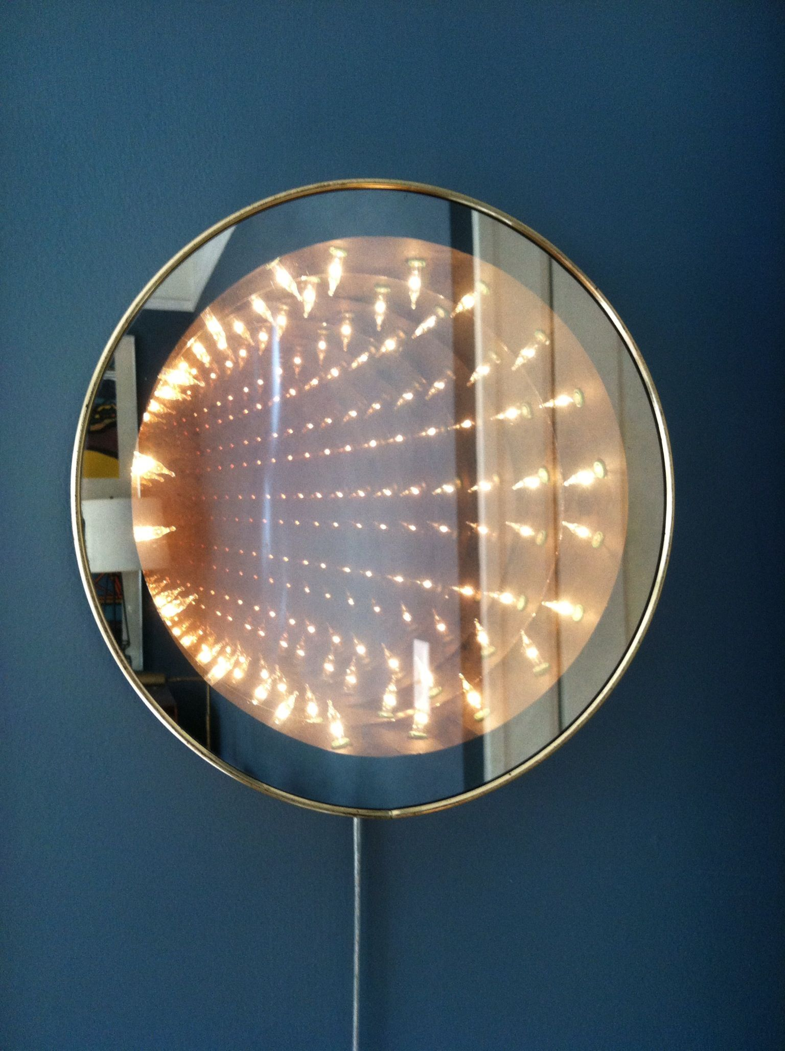Infinity Mirror Licht Kolonialstil Beleuchtung