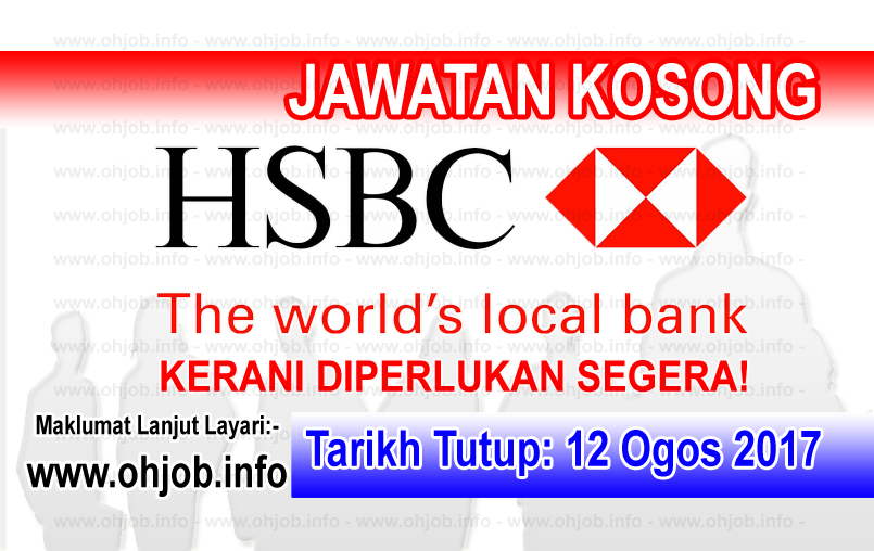 Kerja Kosong HSBC Bank Malaysia Berhad Wealth management