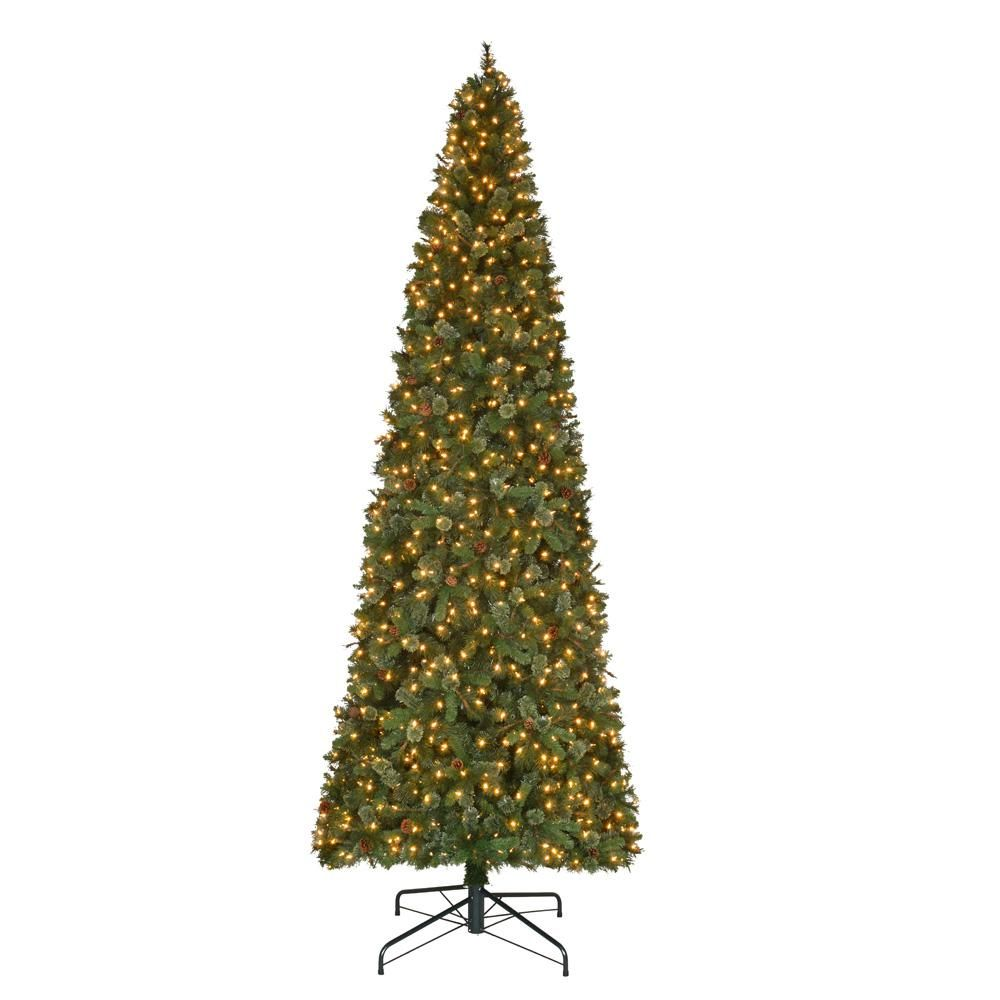 Sams Christmas Trees: Martha Stewart Living 12 Ft. Pre-Lit LED Alexander Pine
