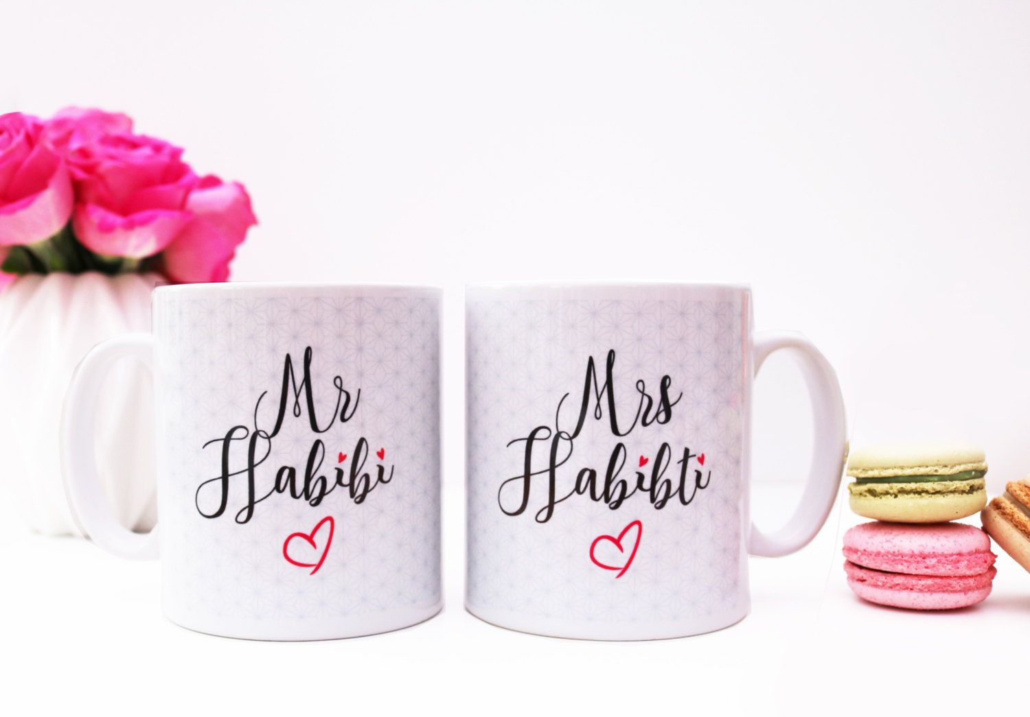 Mr Habibi & Mrs Habibiti Mugs Islamic Wedding Gift Set | Pinterest ...