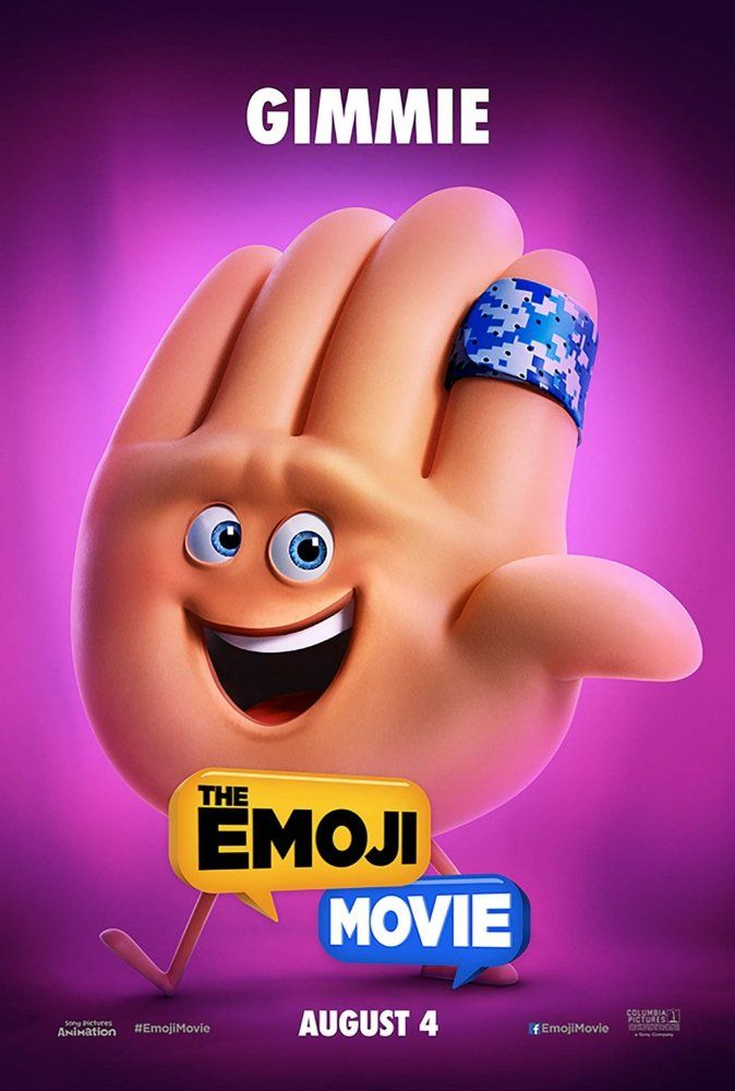 James Corden In The Emoji Movie 2017