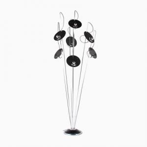 Italian Floor Lamp with 7 Arms, 1970s