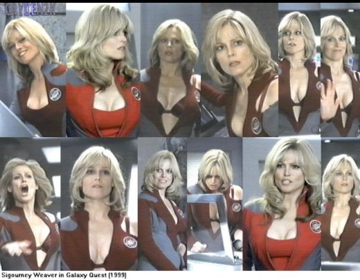 hot Galaxy quest sigourney weaver