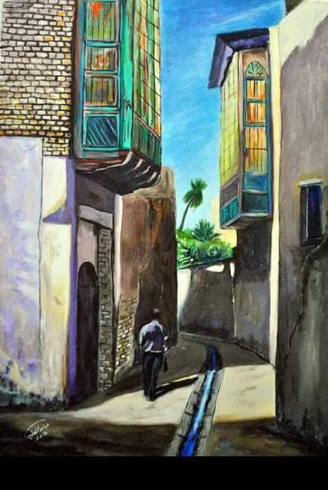 السومري On Twitter Painting Art Projects Islamic Art Middle Eastern Art