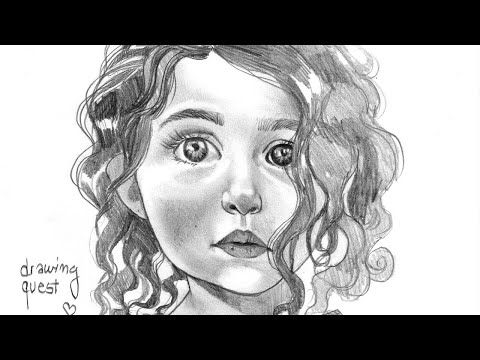 How to Sketch Realistic Face of a Cute Baby Girl- Step by Step - Anahita Hashemzadee - Face Drawing - YouTube #drawing #drawings #drawingoftheday #drawingart #drawingpen #drawingaday #drawingchallenge #drawingskills #drawingpencil #drawingtime #drawing2me #drawingtutorial #drawinganime #drawingsketch #drawingstyle #drawingbook #drawingpractice #drawingsofinstagram #drawingeveryday #drawinganatomyandart #drawingdaily #DrawingHelp #drawingbyme #drawingvideo #drawinganatomy #drawingartist